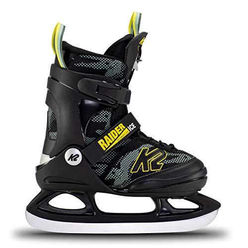 K2 Skates Jungen Schlittschuhe Raider Ice — Green - Yellow — EU:...