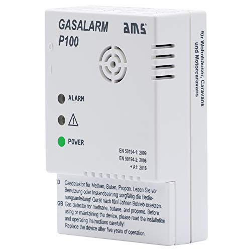 Gasmelder Gasalarm P100 (12 Volt) Butangas + Propangas + Erdgas