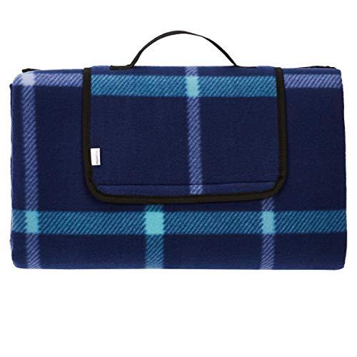 Amazon Basics - Picknickdecke, campingdecke mit wasserdichter...