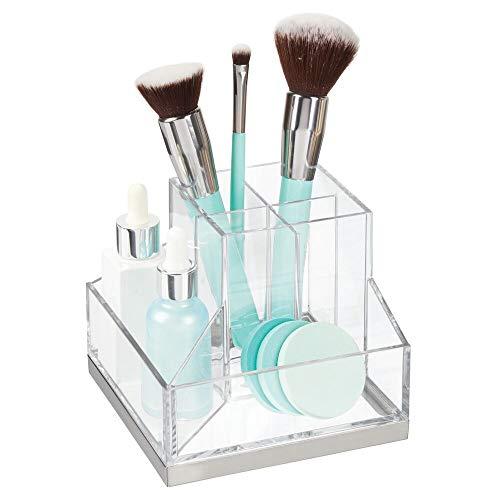 mDesign Stehsammler für Schminke – Make-up Organizer mit 6 Fächern...