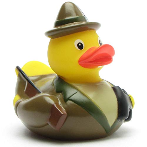 Duckshop I Badeente I Quietscheente I Lustige Badeente Jäger -...