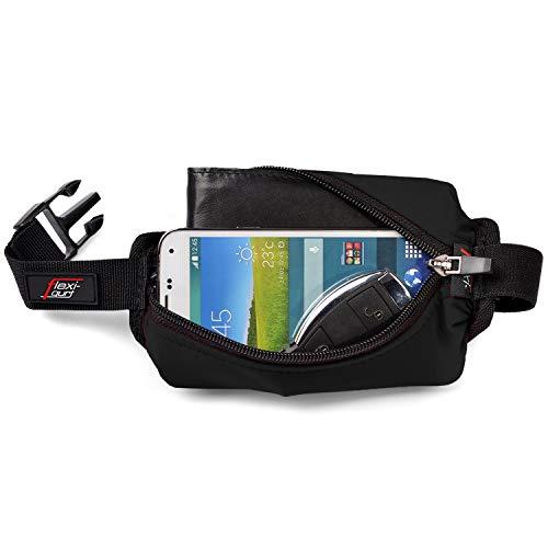 flexi-gurt schwarz - Dehnbare Bauch-Tasche, Flexible Gürtel-Tasche,...