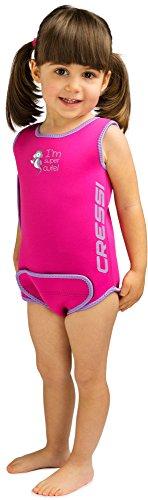 Cressi Infant Baby Warmer - Kinder Neopren Schwimmanzug, Rosa, 18/24...