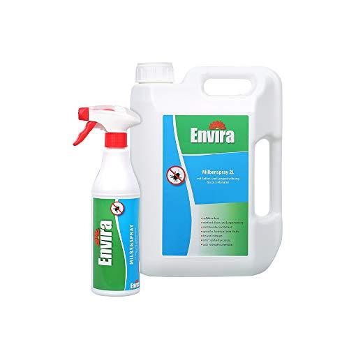 Envira Milben-Spray - Anti-Milben-Mittel Mit Langzeitwirkung -...
