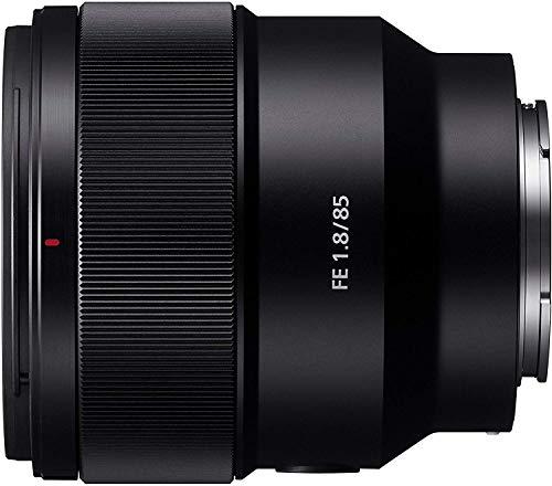 Sony SEL-85F18 Porträt Objektiv (Festbrennweite, 85 mm, F1.8,...