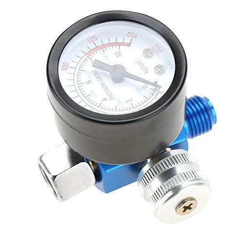 """Spritzpistolenregler, 1/4 """"Spritzpistole Luftdruckregler Manometer..."""