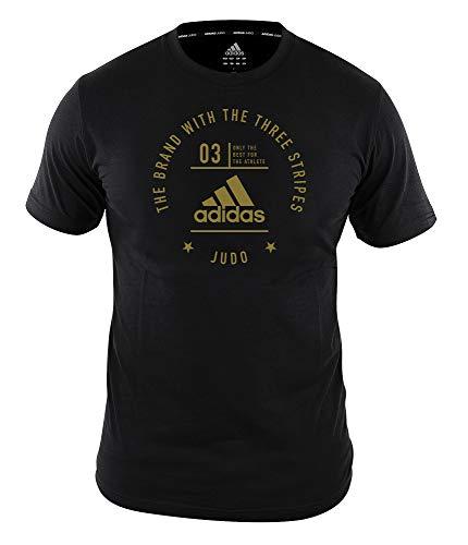 adidas Community T-Shirt Judo Pro Black/Gold, adiCL01J (L)