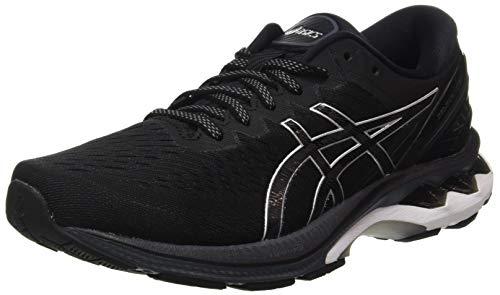 ASICS Herren Gel-Kayano 27 Road Running Shoe, Black/Pure Silver, 43.5...
