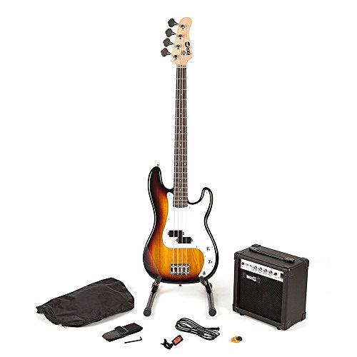 RockJam voller Größe Bassgitarre Super-Kit mit Gitarrenverstärker...