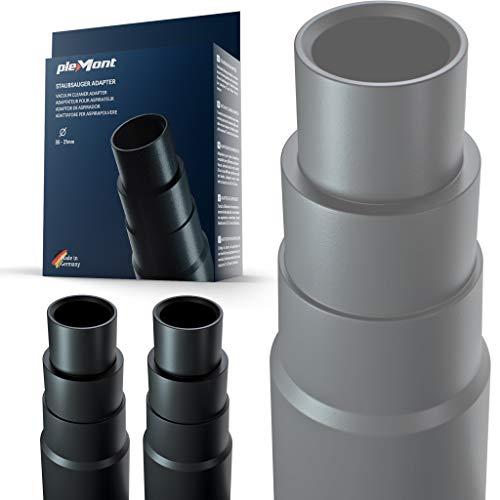 Plemont Staubsauger Adapter [2er Set] für gängige Werkstattsauger....