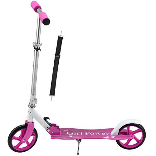 ArtSport Scooter Cityroller Big Wheel 205mm Räder klappbar &...