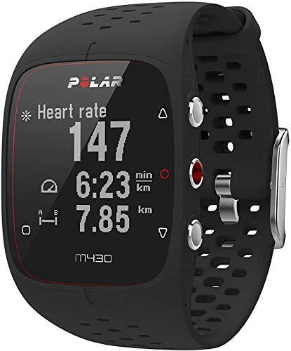 Polar Unisex– Erwachsene M430 GPS-Laufcomputer, schwarz, S