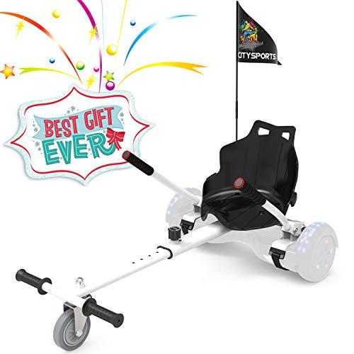 ColorWay Hoverkart Go-Kart Sitzscooter Sitz für Hover Scooter Board...
