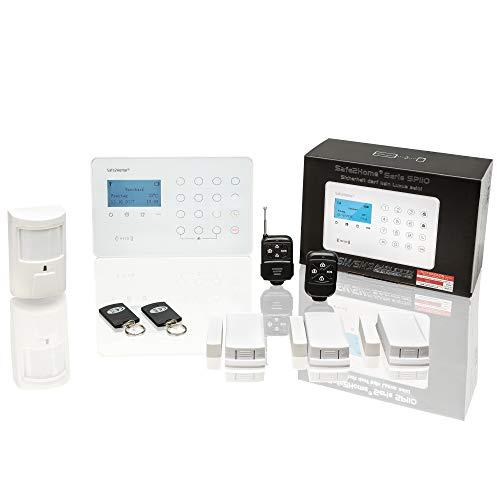 Safe2Home® Funk Alarmanlagen Set SP110 mit Sabotageschutz –...