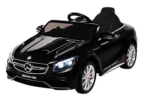 Kinder Elektroauto Mercedes Amg S63 - Lizenziert - 2 x 45 Watt Motor...