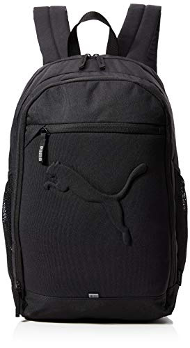PUMA Unisex, Buzz Backpack rucksack, Schwarz, 50x34.5x5 cm