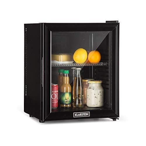 Klarstein Brooklyn - Kühlschrank mit Glastür - Mini-Kühlschrank,...