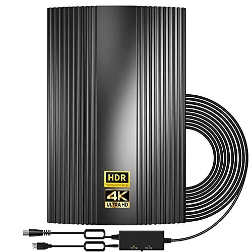 Verbesserte DVB-T2 Antenne-Digitale Innen- / Au?enantenne Verst?rkte...