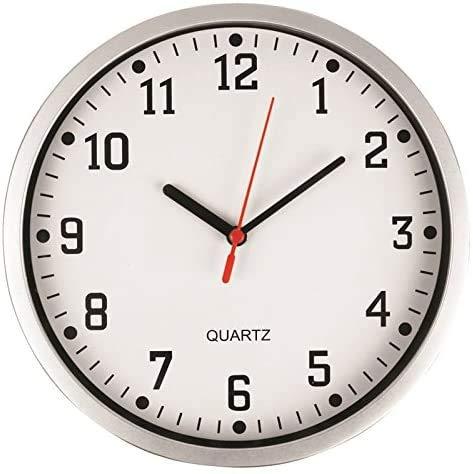 D.A.Y. Republic Große stilvolle Wanduhr 23 cm Quarz-Uhr, leicht...