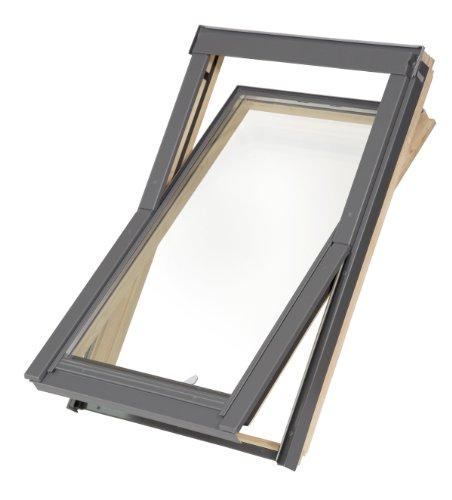 Dachfenster Balio Schwingfenster mit Eindeckrahmen 66x112 cm wie...