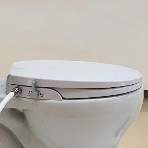 Hibbent Bidet Toilettensitz. Nicht-elektrisch, sanftes Schließen mit...