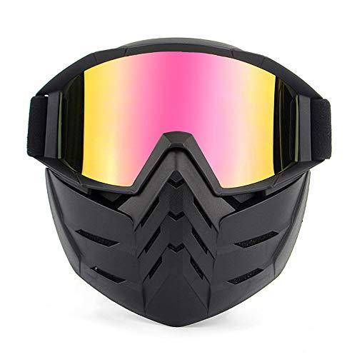 Brillenmaske, Retro-Gesichtsmaske für Masken und Brillen...