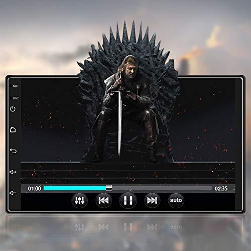 Android 10,1 Autoradio 2 DIN GPS-Navigation Autoradio Bluetooth/WiFi...
