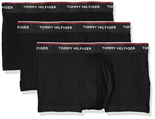 Tommy Hilfiger Herren Hüft-Shorts 3p Lr Boxershorts Trunk, 3er Pack,...