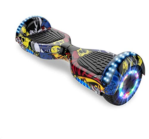 Self-Balancing Scooter, Hoverboard Elektro Scooter 6,5zoll Scooter...