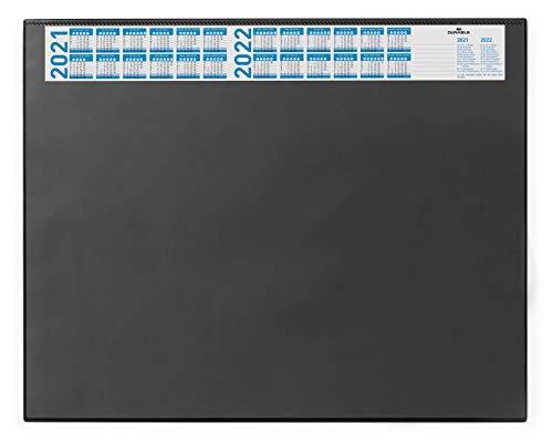 Durable 720401 Schreibunterlage (mit Vollsichtplatte und Kalender, 650...