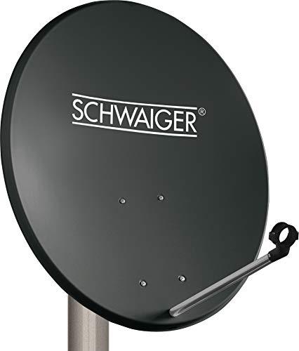 SCHWAIGER -135- Satellitenschüssel, Sat Antenne mit LNB Tragarm und...