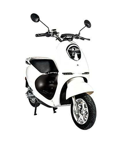 Home Deluxe - E-Roller Lorenzo - Farbe: weiß - inkl. Zulassung 45...