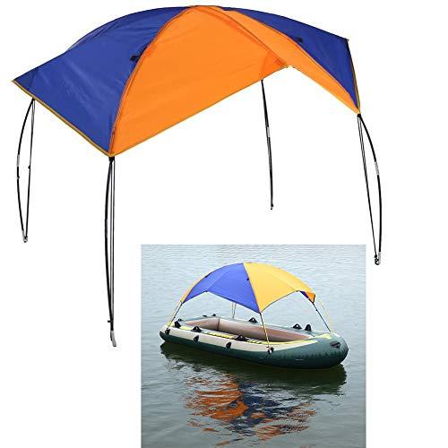 Floving 4-5 Personen Schlauchboot Sonnenschirm Inflatable Boat Segeln...