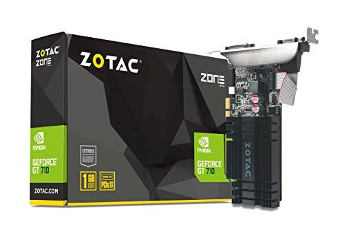 Zotac GeForce GT 710 PCIe x1 Grafikkarte (NVIDIA GT 710, 1GB DDR3,...
