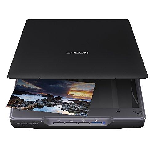 Epson Perfection V39 Scanner (A4, 4800 x 4800 dpi) schwarz