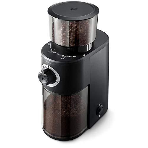 Tchibo Elektrische Kaffeemühle (Edelstahl-Kegelmahlwerk, 26...