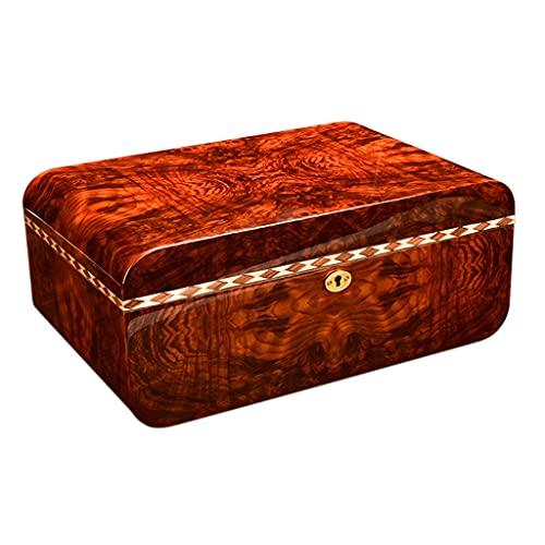 IPOUJ Zigarrenkasten, natürliches Zedernholz, Klavierfarbe,...