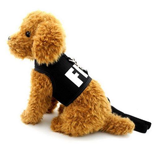 SMALLLEE_LUCKY_STORE Hundegeschirr, ausbruchsicher, FBI-Weste, Jacke,...