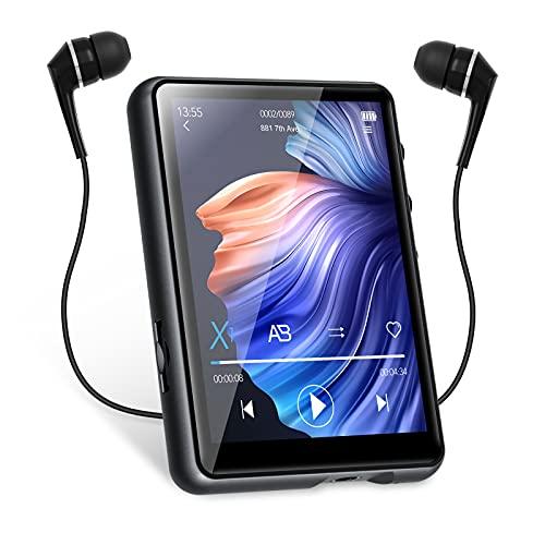32GB MP3 Player Bluetooth 5.0 MECHEN 2,4'' Touchscreen Tragbarer...