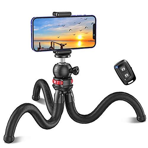 Cocoda Handy Stativ, Flexibel Selfie Stick für Smartphone, Bluetooth...