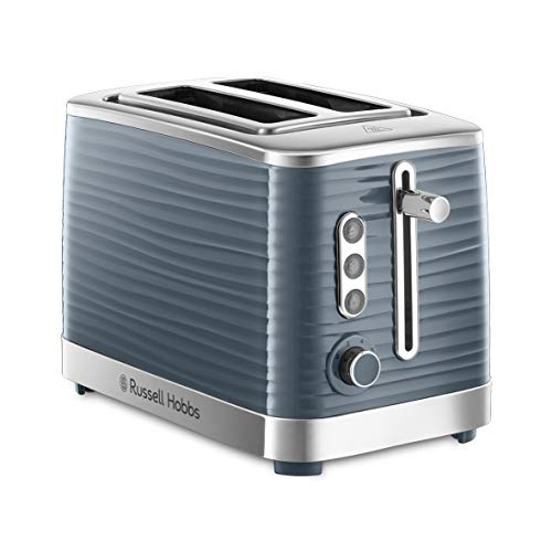 Russell Hobbs Toaster Inspire grau, 2 extra breite Toastschlitze,...