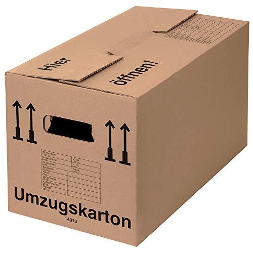 BB-Verpackungen 20 x Umzugskarton PROFI 600 x 328 x 340 mm (stabil...