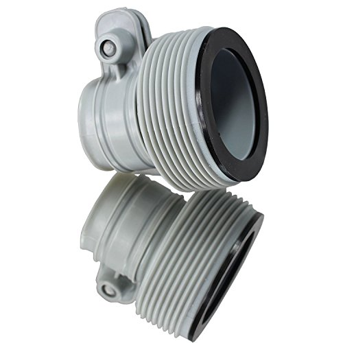 |INTEX 1.25' to 1.5' Type B Hose Adapters for Pumps & Saltwater System...