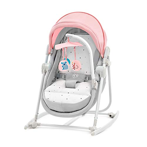 Kinderkraft Babywippe UNIMO, 5 in 1, Babyschaukel, Wippe,...