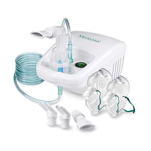 Medisana IN 500 Inhalator, Kompressor Vernebler mit Mundstück und...