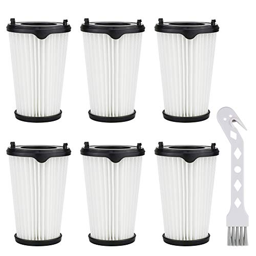 K KUMEED 6 Stück Filter Zubehör Ersatzfilter Staubsaugerfilter für...