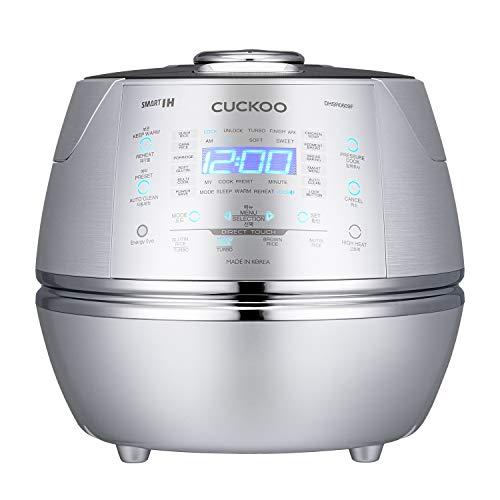 CUCKOO CRP-DHSR0609F Dampfdruck-Reiskocher 1080ml 6 Tassen | IH...