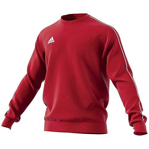 adidas Herren CORE18 SW TOP Sweatshirt, Power red/White, M