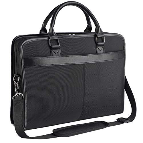 NEWHEY Laptop Tasche 15.6 Zoll Aktentasche Wasserabweisend Bussiness...