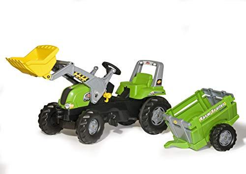 Rolly Toys rollyJunior RT Tretfahrzeug (mit Anhänger, für Kinder ab...